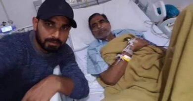mohd shami with father