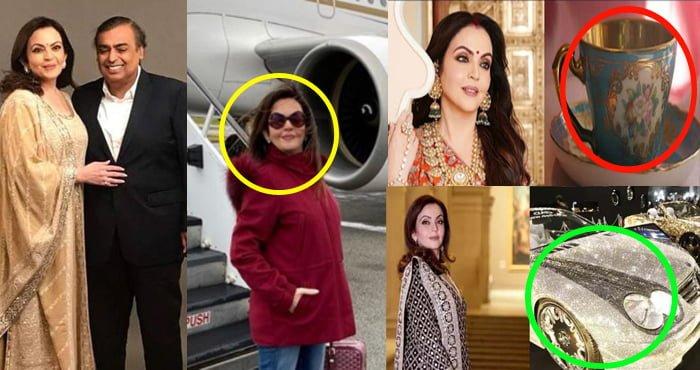 एशिया के सबसे अमीर शख्स की पत्नी नीता अम्बानी के शौक हैं इतने महंगे, जानकर आम-आदमी का सिर चकरा जाएगा
