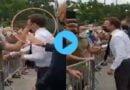 VIDEO: फ्रांस के राष्ट्रपति इमैनुएल मैक्रों को सरेआम शख्स ने मारा थप्पड़, वीडियो हुआ वायरल