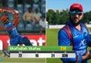 इस अफगानी बल्लेबाज ने खेली टी-20 की सबसे तूफानी पारी, 71 गेंदो पर ठोक दिये 214 रन, 21 छक्के जड़े