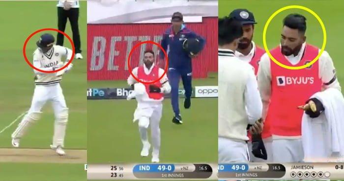 VIDEO:शुभमन के सिर पर लगी गेंद तो मैदान में दौड़े चले आए मोहम्मद सिराज, फैन्स बोले- एक दिल कितनी बार जीतोगे